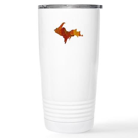 Autumn Leaves U.P. Stainless Steel Travel Mug