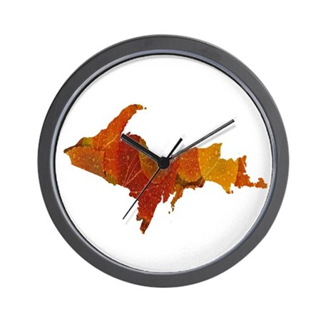 Autumn Leaves U.P. Wall Clock