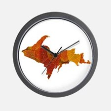 Autumn Leaves U.P. Wall Clock