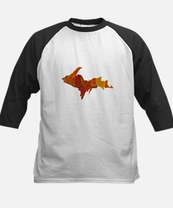 Autumn Leaves U.P. Kids Baseball Jersey