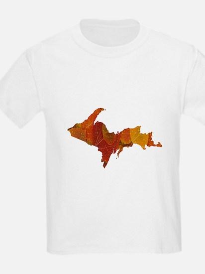 Autumn Leaves U.P. T-Shirt