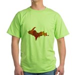 Autumn Leaves U.P. Green T-Shirt