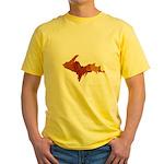 Autumn Leaves U.P. Yellow T-Shirt