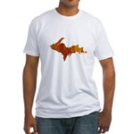 Autumn Leaves U.P. Fitted T-Shirt