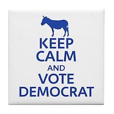 Keep Calm Republican Tile Coaster