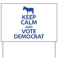 Keep Calm Republican Yard Sign