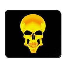 Gold Skull Mousepad