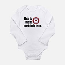what does this mean Long Sleeve Infant Bodysuit