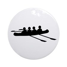 Rowing Ornament (Round)