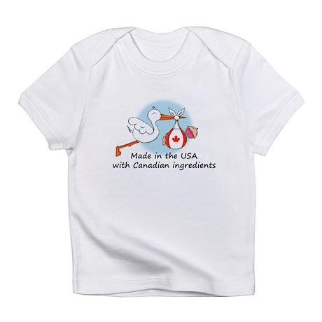 Stork Baby Canada USA Infant T-Shirt