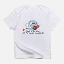 Stork Baby Portugal USA Infant T-Shirt