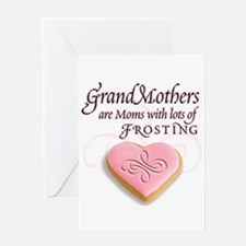 Grandmas are frosting Greeting Card