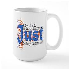 Cluttered Desk Mug