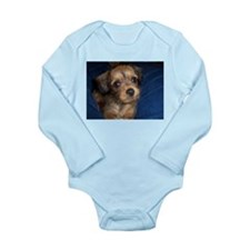 Puppy Long Sleeve Infant Body Suit