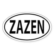 Zazen Decal