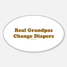 Grandpas Change Diapers Decal
