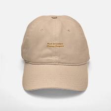 Grandpas Change Diapers Baseball Baseball Cap
