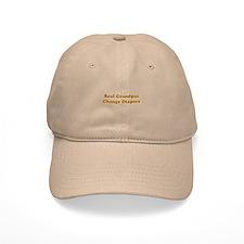 Grandpas Change Diapers Baseball Cap