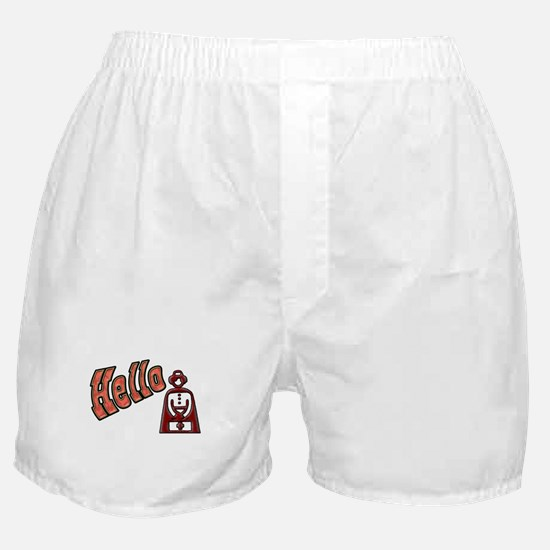 Hello Nurse Boxer Shorts