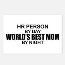 World's Best Mom - HR Postcards (Package of 8)
