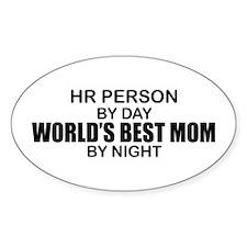 World's Best Mom - HR Decal