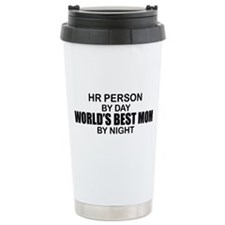 World's Best Mom - HR Travel Coffee Mug