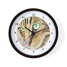 """Bright eyes"" Wall Clock"