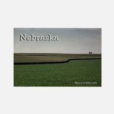 Nebraska Rectangle Magnet