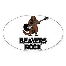 Beavers Rock Decal