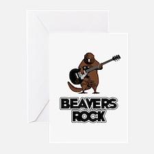 Beavers Rock Greeting Cards (Pk of 10)