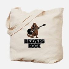 Beavers Rock Tote Bag