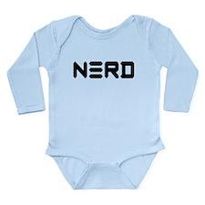 Nerd Long Sleeve Infant Bodysuit