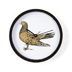 Flying Oriental Roller Almond Wall Clock