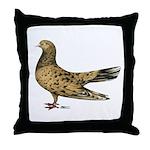 Flying Oriental Roller Almond Throw Pillow