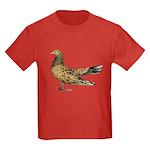 Flying Oriental Roller Almond Kids Dark T-Shirt