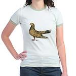 Flying Oriental Roller Almond Jr. Ringer T-Shirt