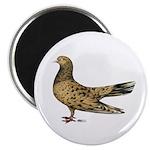 "Flying Oriental Roller Almond 2.25"" Magnet (1"