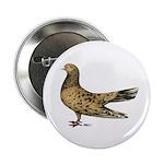 "Flying Oriental Roller Almond 2.25"" Button"