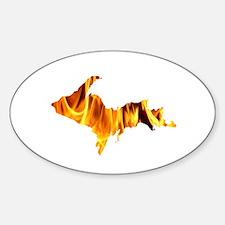 Bonfire U.P. Decal