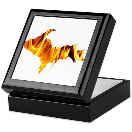 Bonfire U.P. Keepsake Box