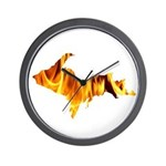 Bonfire U.P. Wall Clock