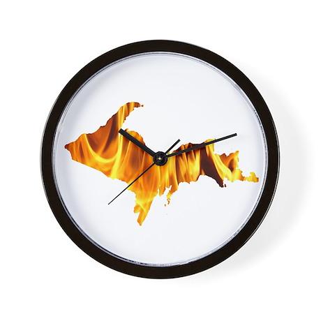 Bonfire U.P. Wall Clock