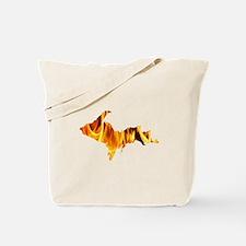 Bonfire U.P. Tote Bag