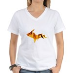 Bonfire U.P. Women's V-Neck T-Shirt