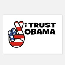 I Trust Obama Postcards (Package of 8)