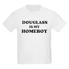Douglass Is My Homeboy Kids T-Shirt