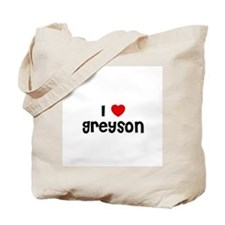 I * Greyson Tote Bag