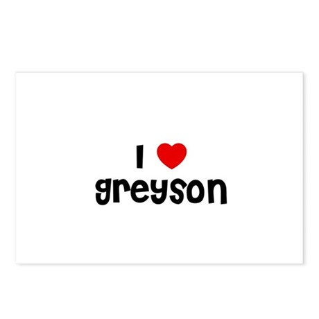 I * Greyson Postcards (Package of 8)