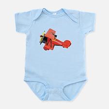 Biplane Profile Infant Bodysuit