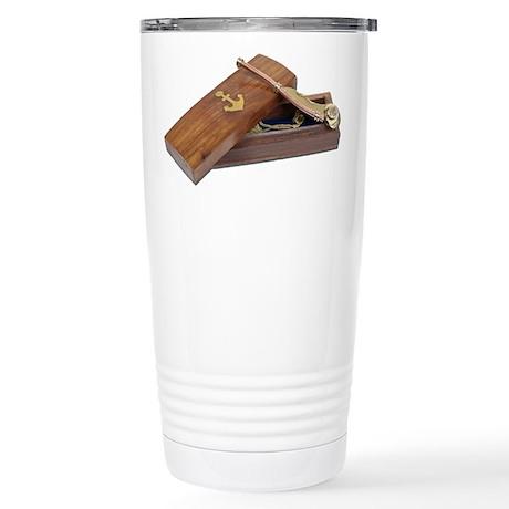 Boson Box Whistle Stainless Steel Travel Mug